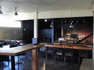 Looking toward the stage from behind the bar. - CHEY SCOTT