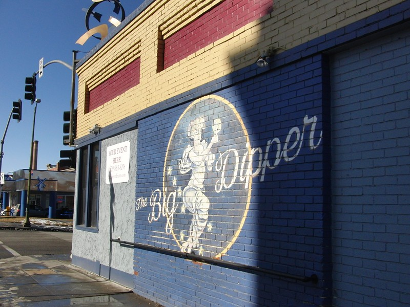 New business owners reopening the iconic Big Dipper restored the mural on the building along with a fresh coat of paint. - CHEY SCOTT