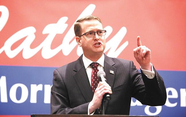 Rep. Matt Shea is sponsoring a bill to repeal I-594.
