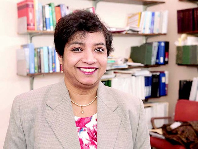Researcher Susmita Bose hopes to pump out replacement bones down in Pullman. - WSU PHOTO