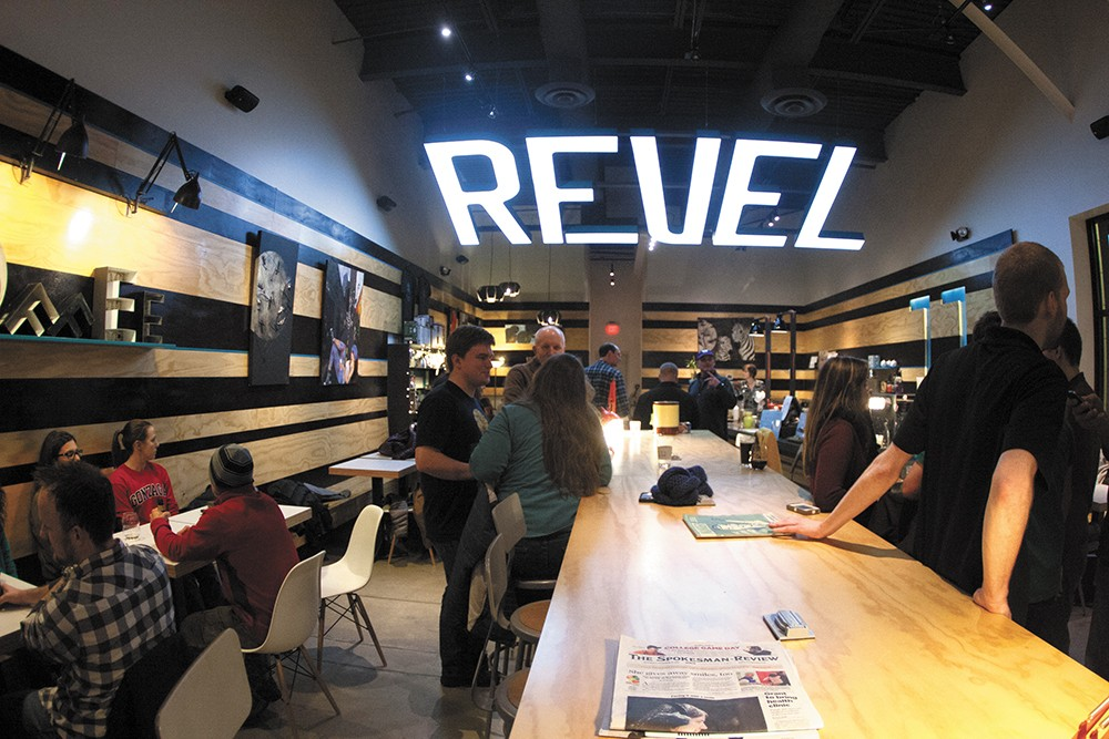 Revel 77 added beer and wine to make the coffee shop an all-hours hangout. - MEGHAN KIRK