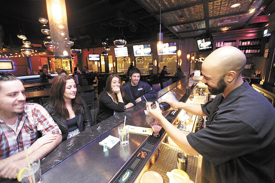 Rock City Grill offers drink and food specials aplenty during their late-night happy hour. - YOUNG KWAK