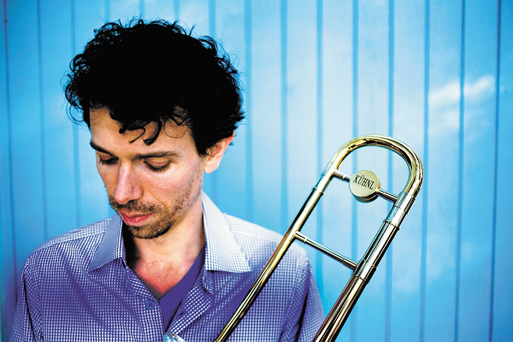 Ryan Keberle plays with Catharsis featuring Brent Edstrom Trio on Friday.