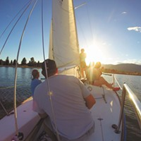 OUTING | SAILING LAKE PEND OREILLE