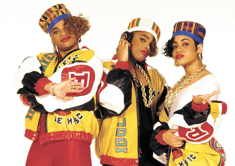 Salt-N-Pepa's upcoming sportswear collection most likely won't look like these outfits.