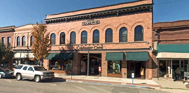 The Coldwater Creek retail shop and wine bar in Sandpoint, where the company has its headquarters. - GOOGLE STREET VIEW