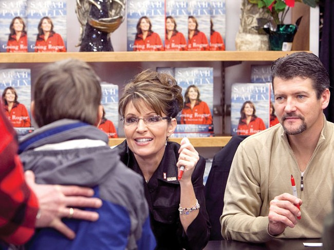 Sarah Palin in Coeur d'Alene - PHOTO: MARKUS BURNS