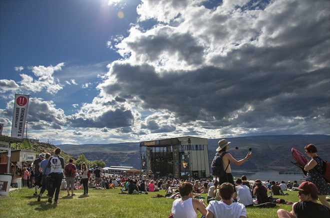 Unlike previous years, Sasquatch will take over the Gorge for two weekends in 2014. - NICK GAST