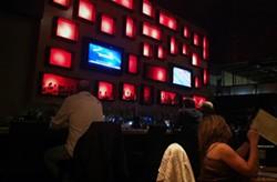Patrons enjoy Savory's last night of business on Feb. 2.
