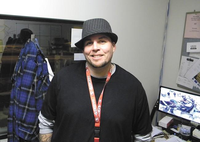 Scott Parker, the shelter's manager. - JAKE THOMAS