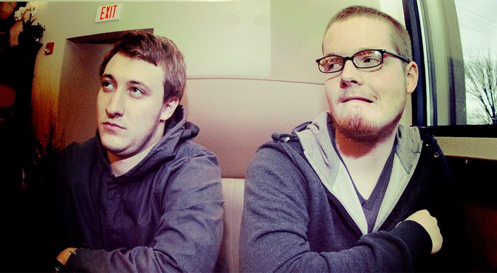 Sea Giant members Kyler Ferguson (left) and Conor Knowles. - MEGHAN KIRK