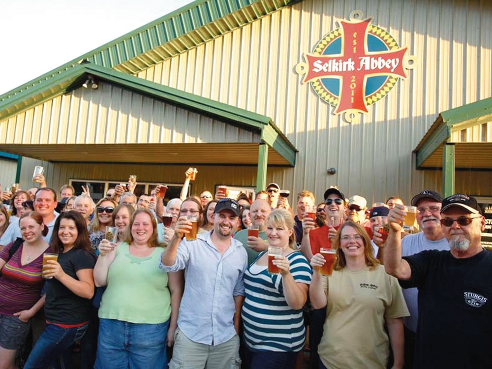 Selkirk Abbey Brewing Company celebrates in style.