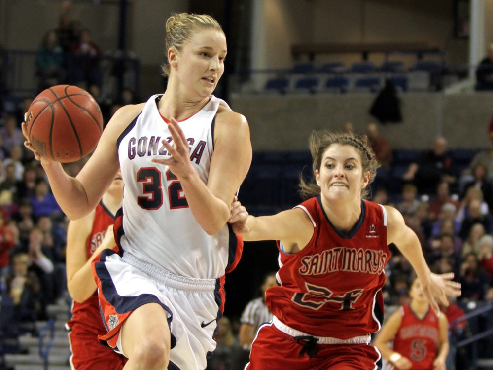 Senior Kayla Standish has made the adjustment to life after Courtney. - TORREY VAIL