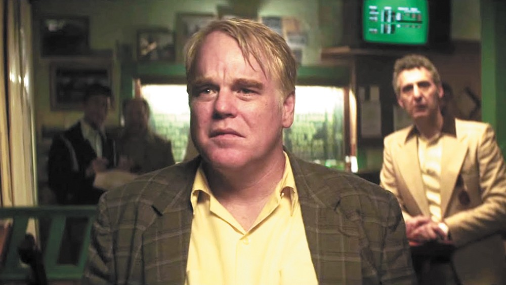 Seymour Hoffman plays Mickey, a hard-gambling family man, in God's Pocket.
