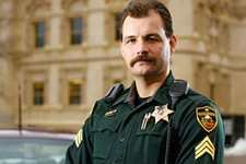 Sheriff's Sgt. Jay McNall shot and killed a knife-wielding man in 1994. - YOUNG KWAK