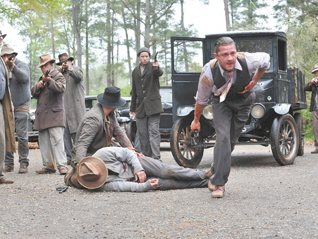 Shia LeBoeuf is just part of a dynamite cast  depicting the bloody underbelly of Prohibition.