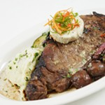 Signature Ribeye Steak from Remington's at the Ramada.