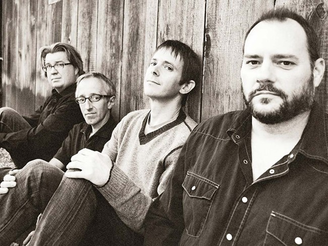 Singer Glen Phillips (second from right) and Toad the Wet Sprocket