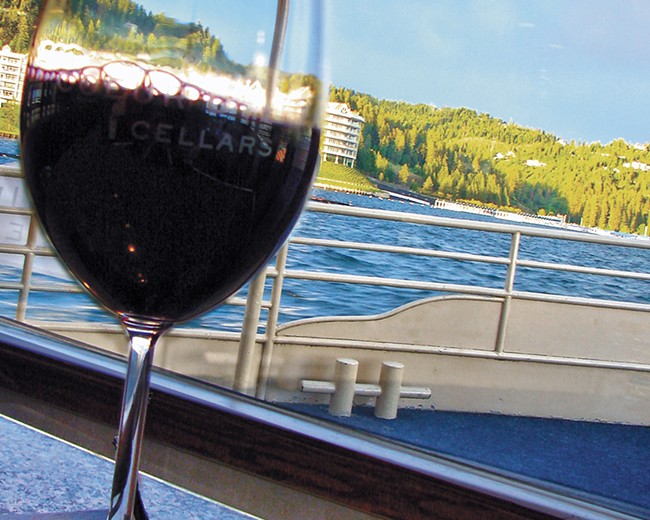 Sip regional wines and beers with a view of the lake. - CARRIE SCOZZARO