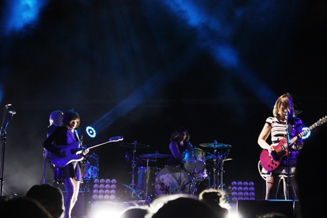 After kicking off their tour in Spokane earlier this year, Sleater-Kinney showed Sasquatch! they still know how to rock hard. - LAURA JOHNSON