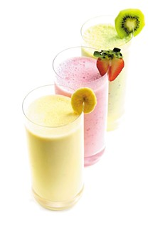 Smoothies are a great solution for people with swallowing problems. - WSU-SPOKANE