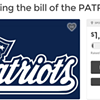 Some dude in Spokane wants you to pay the Patriots' Deflategate fine