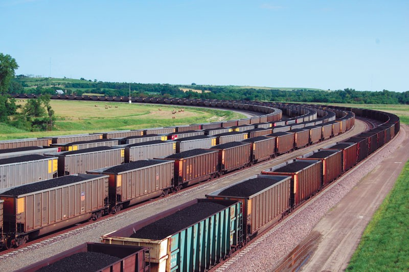 Some studies estimate that each coal car loses as much as 500 pounds of coal and dust — more than 30 tons per train per trip. - COLIN NEDERKOORN