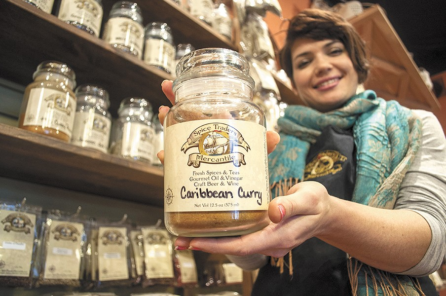 Spice Traders Mercantile sells hard-to-find spices and more in Spokane Valley. - SARAH WURTZ