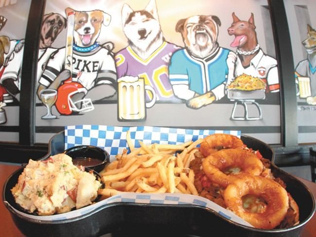 Spike\'s does classic-style Phillys, but you can get more adventurous with something like the Roll Over, seen here. - JOE KONEK