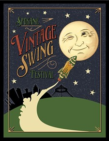 DEBBY DAHLKE, FRESH PAINT GRAPHIC DESIGN - Spokane Celebrates Swing & Jazz Appreciation Month