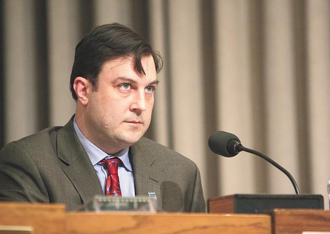 Spokane City Council President Ben Stuckart - YOUNG KWAK