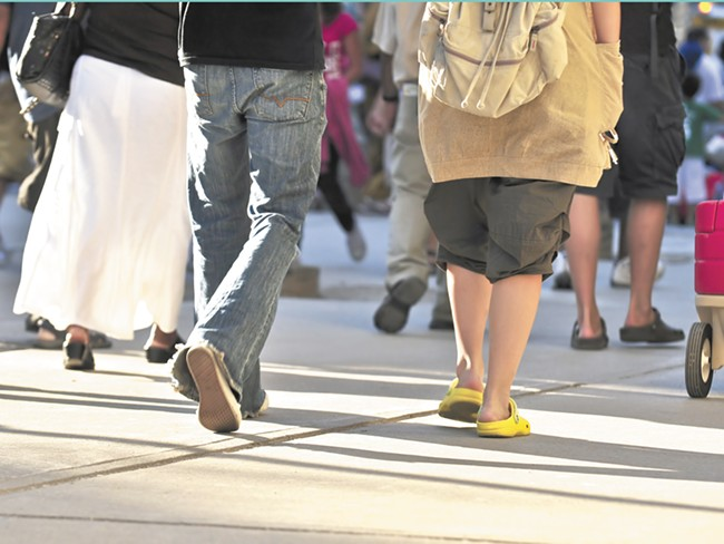 Spokane is missing more than 650 miles of sidewalks, according to the city.