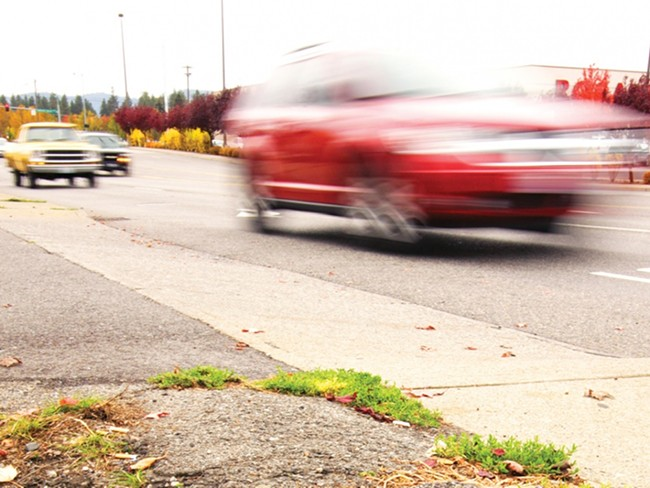 Sprague Avenue in Spokane Valley