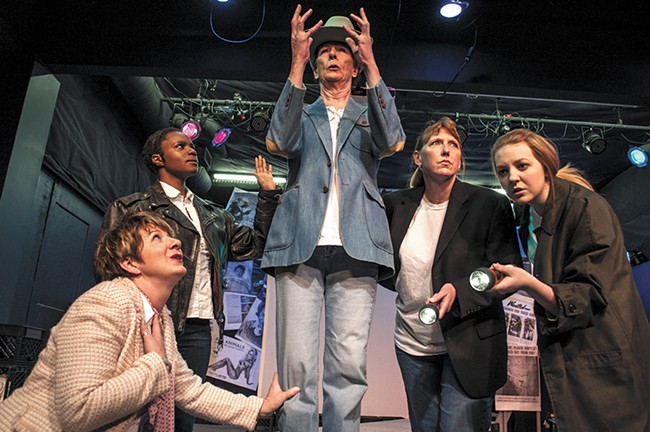 Stage Left Theater is no stranger to heady topics like feminism, which they inspect with their new production. - SARAH WURTZ