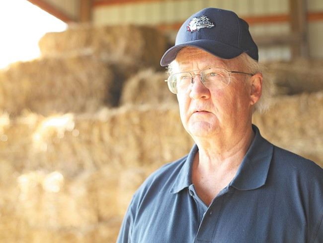 Stan Peterson has been unable to farm his 120 acres in north Spokane County since an injury at a city golf ourse in 2007. - YOUNG KWAK