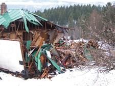 Steve Schroeder\'s childhood home in Colville was razed before he could remove all of his belongings.