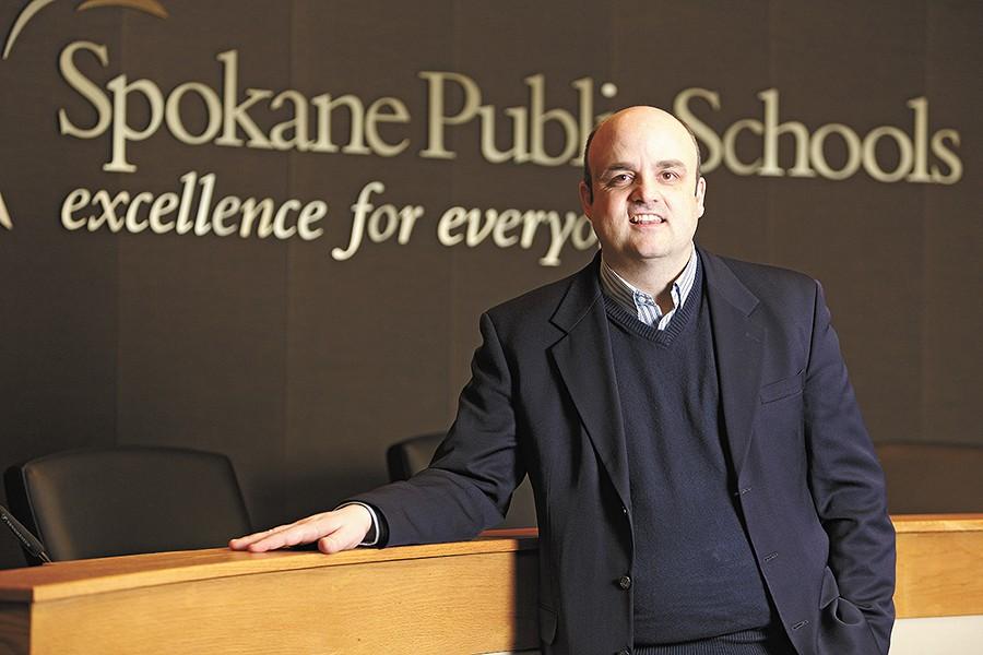 Steven Gering, now at Spokane Public Schools, is a TFA alum. - YOUNG KWAK