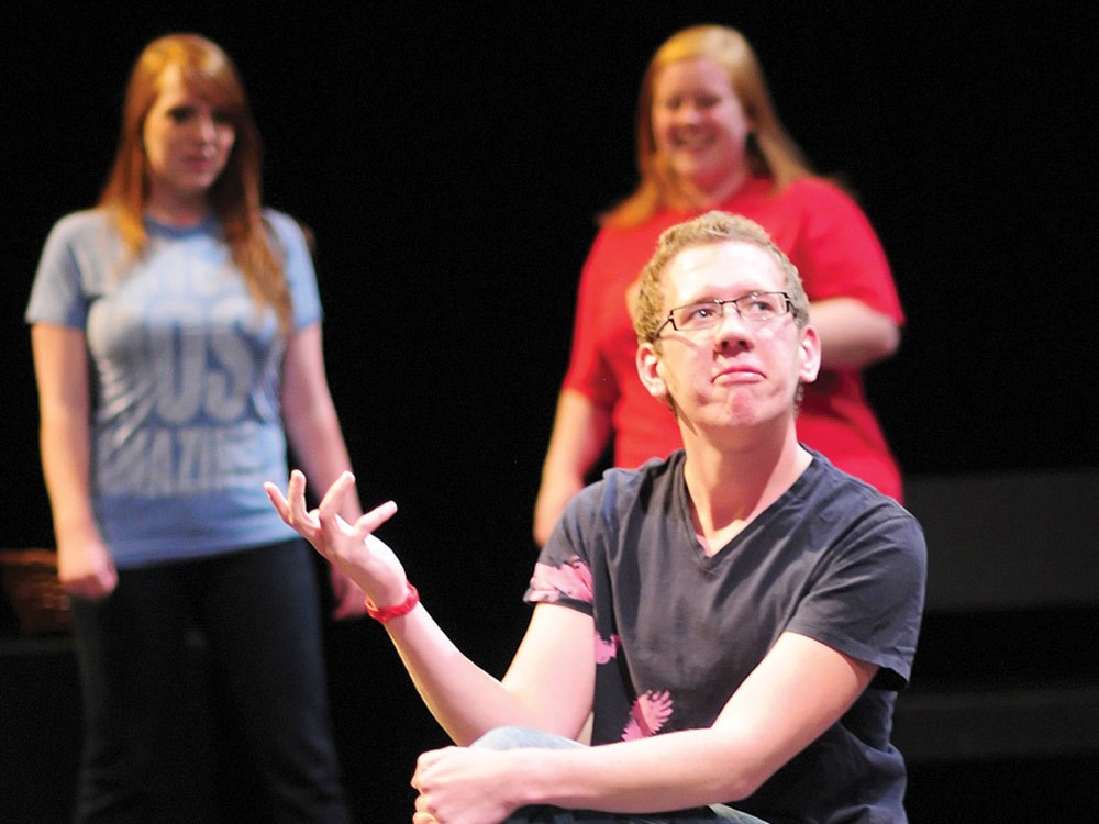 Students with the STAGE program perform. - MICHAEL HARRIS PHOTO