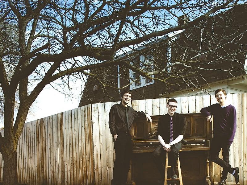 Sunstripe (from left): Mike Gebhart, Michael Starry, Schuyler Aspin - KRISTEN BLACK