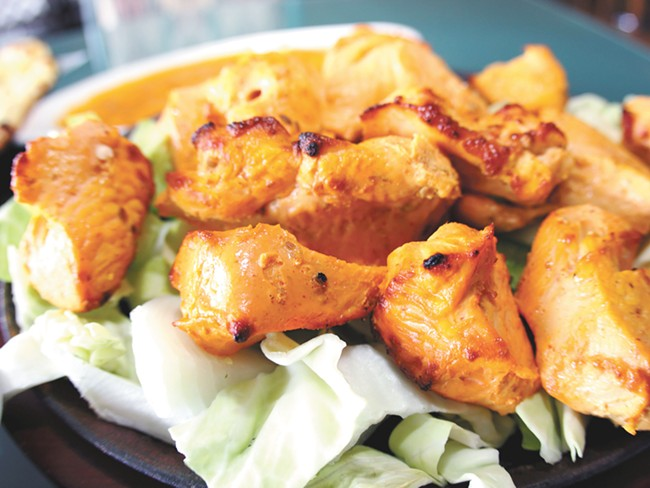 Swagat offers a wide-ranging menu of Indian favorites.