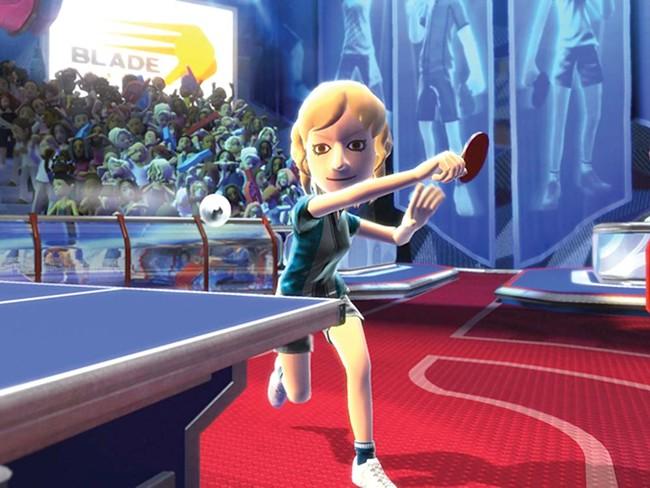 Table tennis never looked so neat or felt so sloppy.