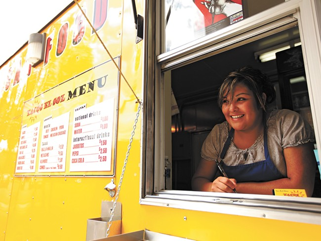 Taco El Sol spent more than a year preparing to open in downtown Spokane. - YOUNG KWAK