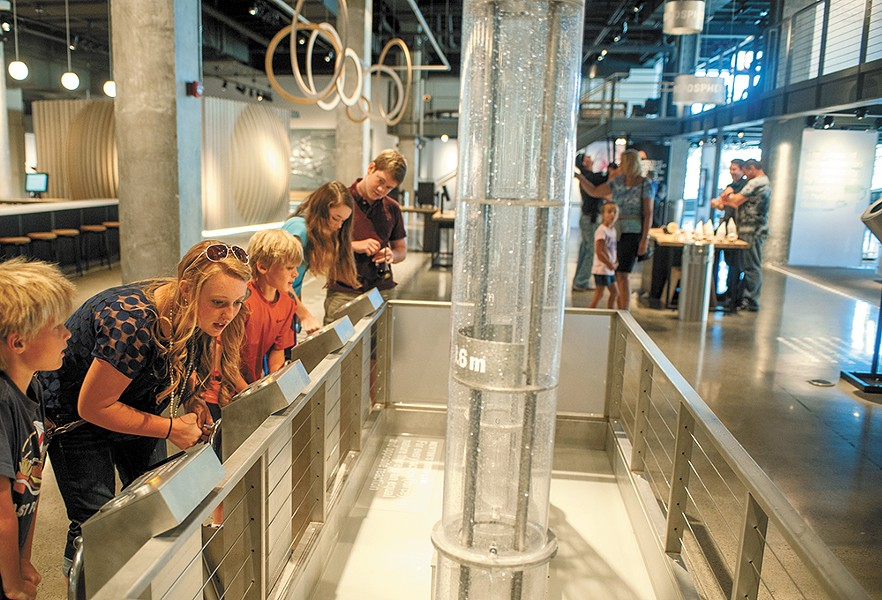 Take the whole family to Mobius Science Center.