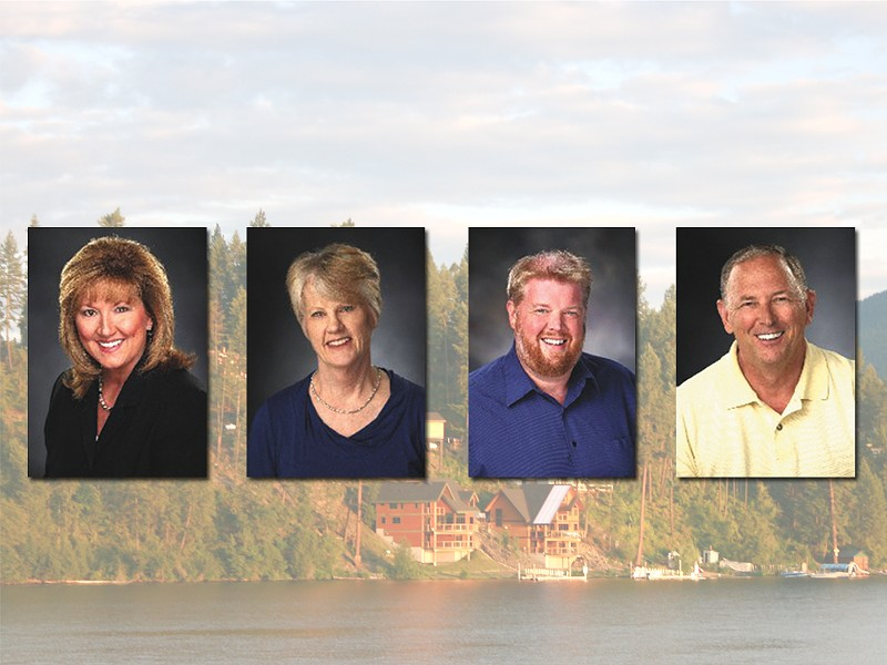 Terri Seymour, Anne Seddon, Tom Hlton, and  James Purtamiee