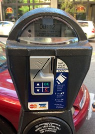 """A new """"smart meter"""" on Post St."""