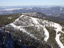 The angel Peak area of 49 Degrees North will be open for skiing next season