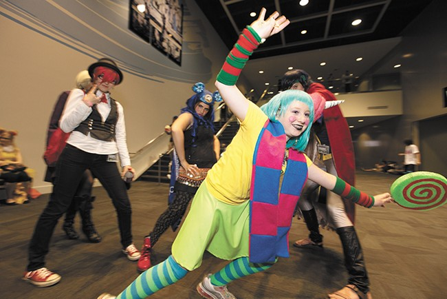 The anime event KuroNekoCon at the Spokane Convention Center earlier this month. - YOUNG KWAK