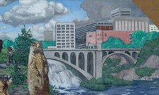 Downtown Spokane marmot mural getting a new look