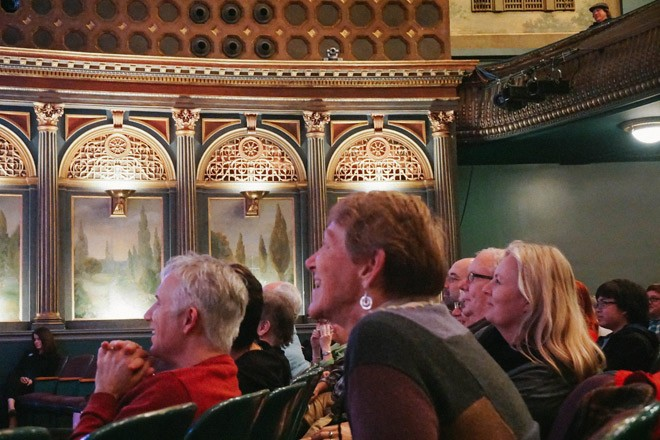 The audience was enthralled with Queens of the - Roleo's Roy Bartlett. - COURTNEY BREWER