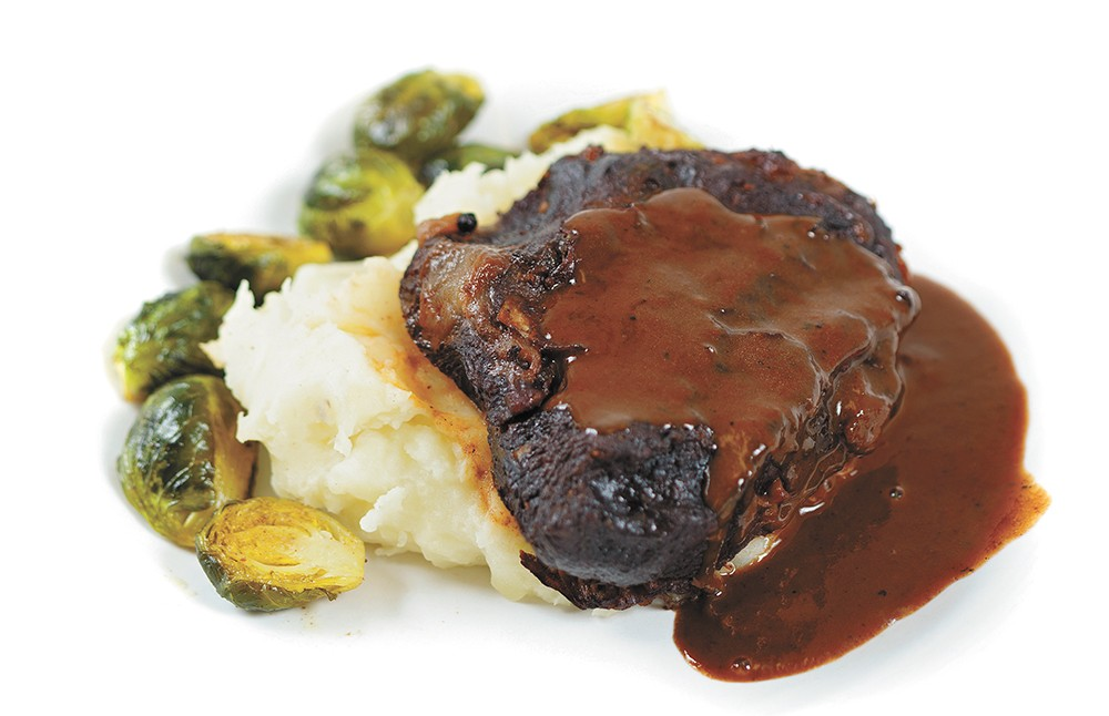 The beef cheek bourguignon from Central Food. - YOUNG KWAK